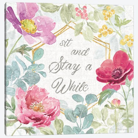 Springtime Bloom VII Canvas Print #BEG59} by Beth Grove Canvas Art Print