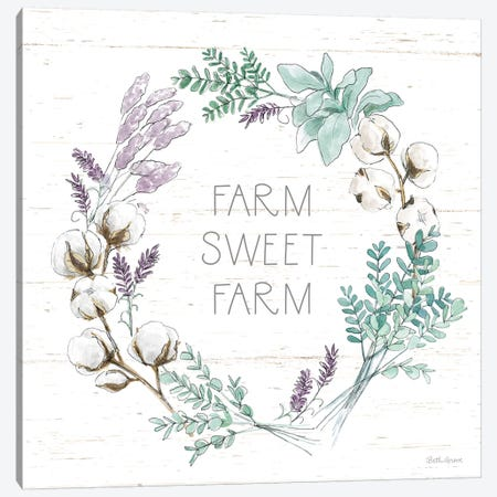 Farmhouse Cotton VIII Canvas Print #BEG64} by Beth Grove Canvas Print