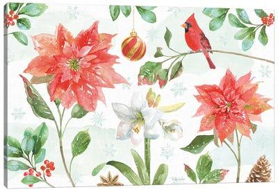 Holiday Flora IV Canvas Art Print