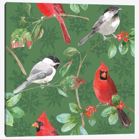 Holiday Flora Pattern IIIB Canvas Print #BEG71} by Beth Grove Canvas Print