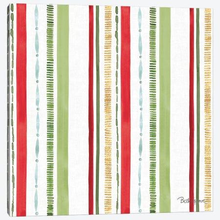 Holiday Flora Pattern IV Canvas Print #BEG73} by Beth Grove Canvas Art Print