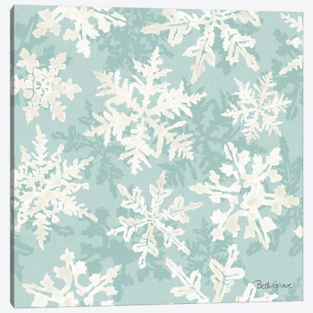 Holiday Flora Pattern VIID Canvas Print #BEG81} by Beth Grove Canvas Artwork