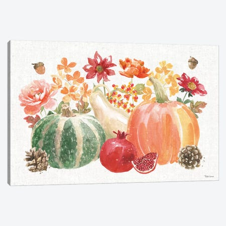 Harvest Bouquet IV Canvas Print #BEG85} by Beth Grove Canvas Print