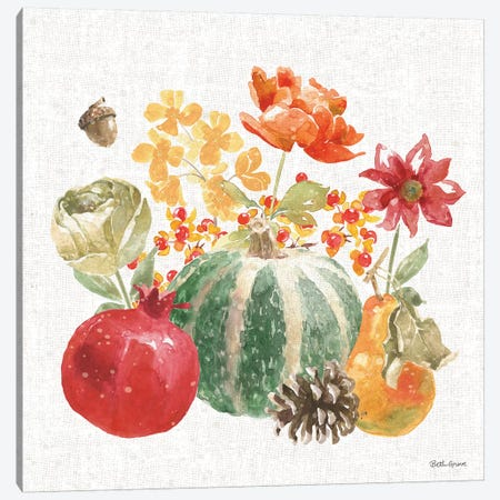 Harvest Bouquet V Canvas Print #BEG86} by Beth Grove Canvas Art Print