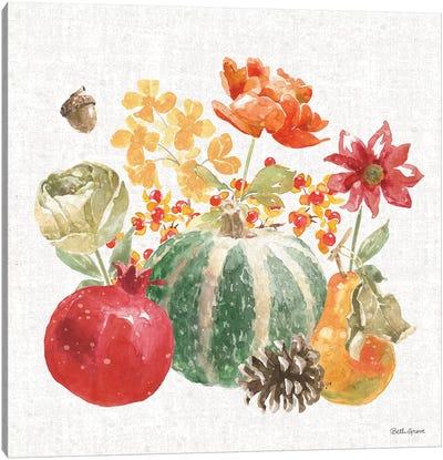 Harvest Bouquet V Canvas Art Print