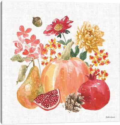 Harvest Bouquet VI Canvas Art Print