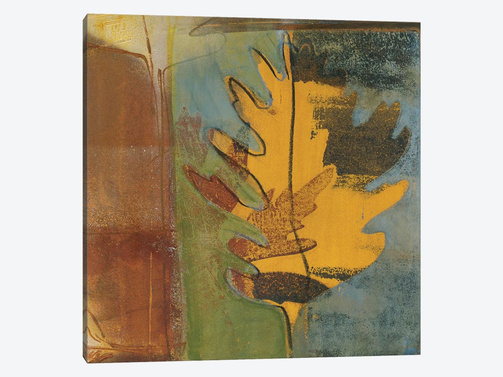 Dancing Leaf 1-piece Canvas Art