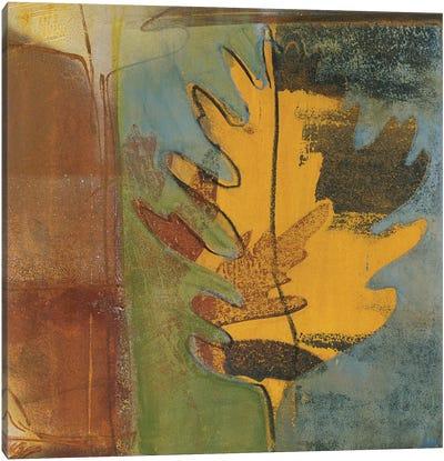 Dancing Leaf Canvas Art Print