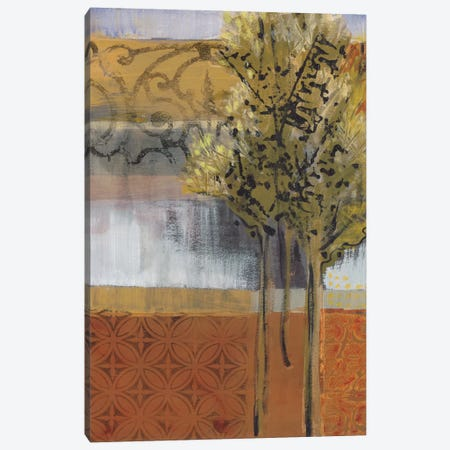 Edge Of The Path Canvas Print #BER19} by Leslie Bernsen Canvas Artwork