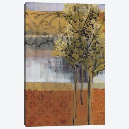 Edge Of The Path Canvas Print #BER19} by Leslie Bernsen Canvas Artwork