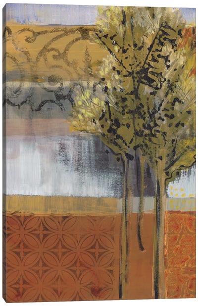 Edge Of The Path Canvas Art Print