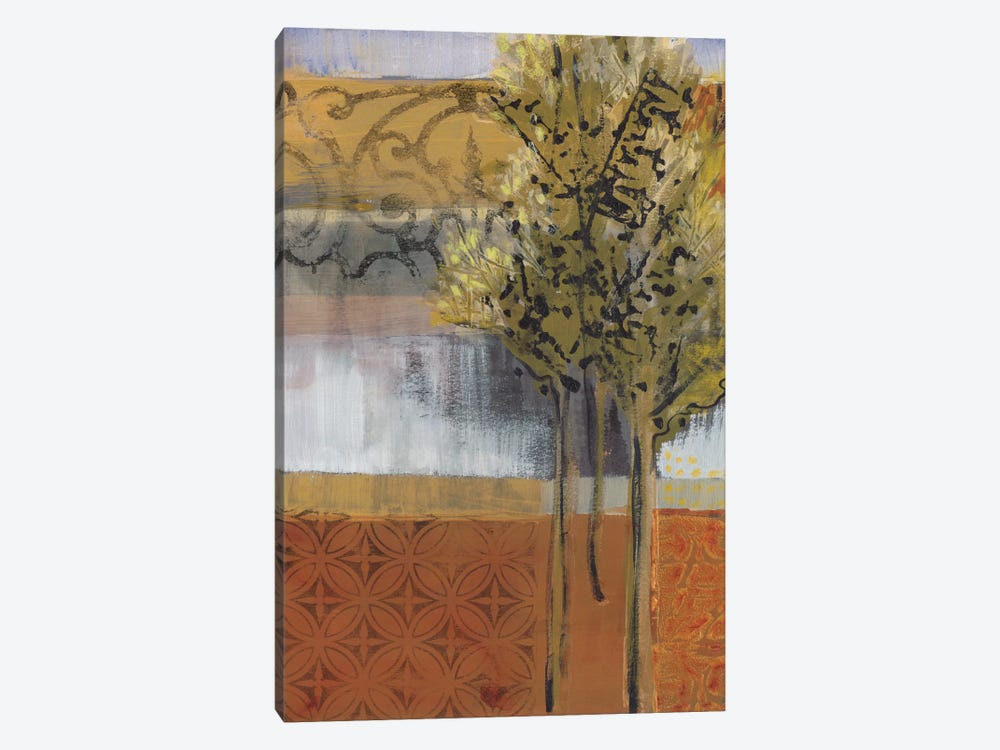 Edge Of The Path by Leslie Bernsen 1-piece Canvas Art