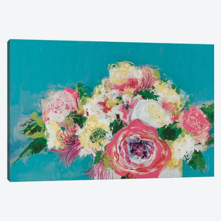 First Blooms Canvas Print #BER23} by Leslie Bernsen Art Print