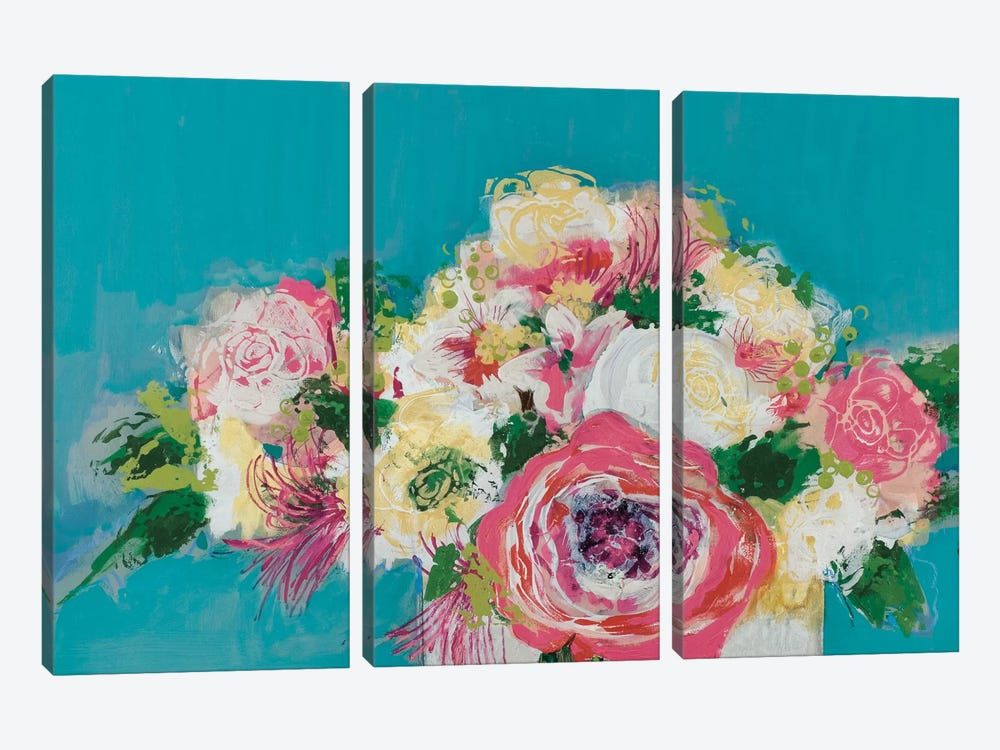 First Blooms by Leslie Bernsen 3-piece Canvas Print