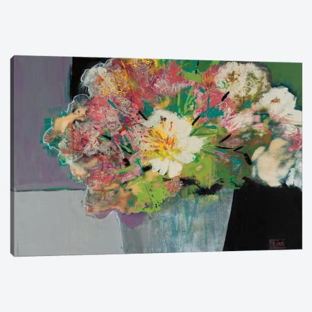 Flower Market Canvas Print #BER24} by Leslie Bernsen Canvas Wall Art