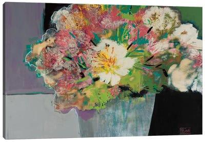 Flower Market Canvas Art Print