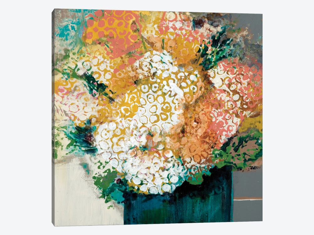 Garden Bunch by Leslie Bernsen 1-piece Canvas Art