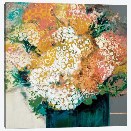 Garden Bunch Canvas Print #BER26} by Leslie Bernsen Canvas Art