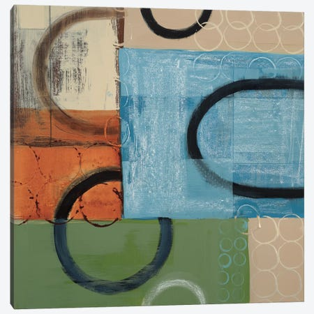 Going In Circles Canvas Print #BER27} by Leslie Bernsen Canvas Art