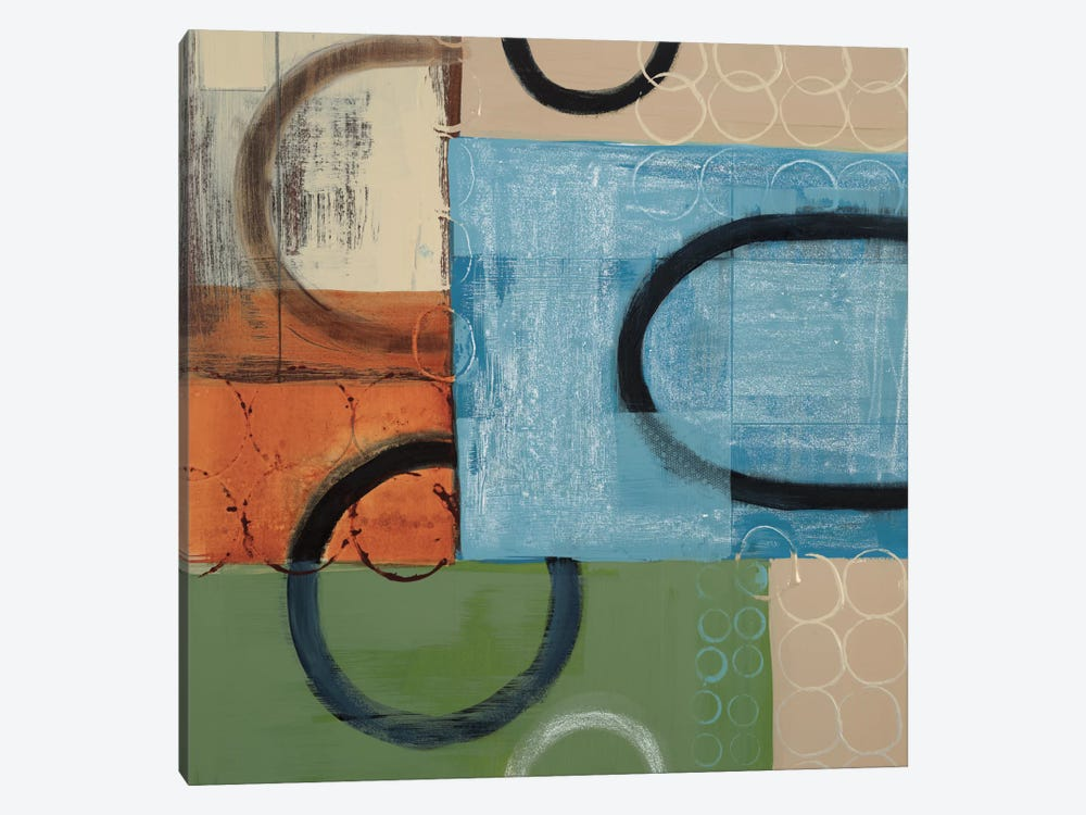 Going In Circles by Leslie Bernsen 1-piece Canvas Art Print