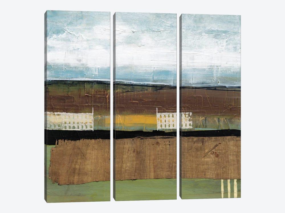 Grazing Range II by Leslie Bernsen 3-piece Canvas Print
