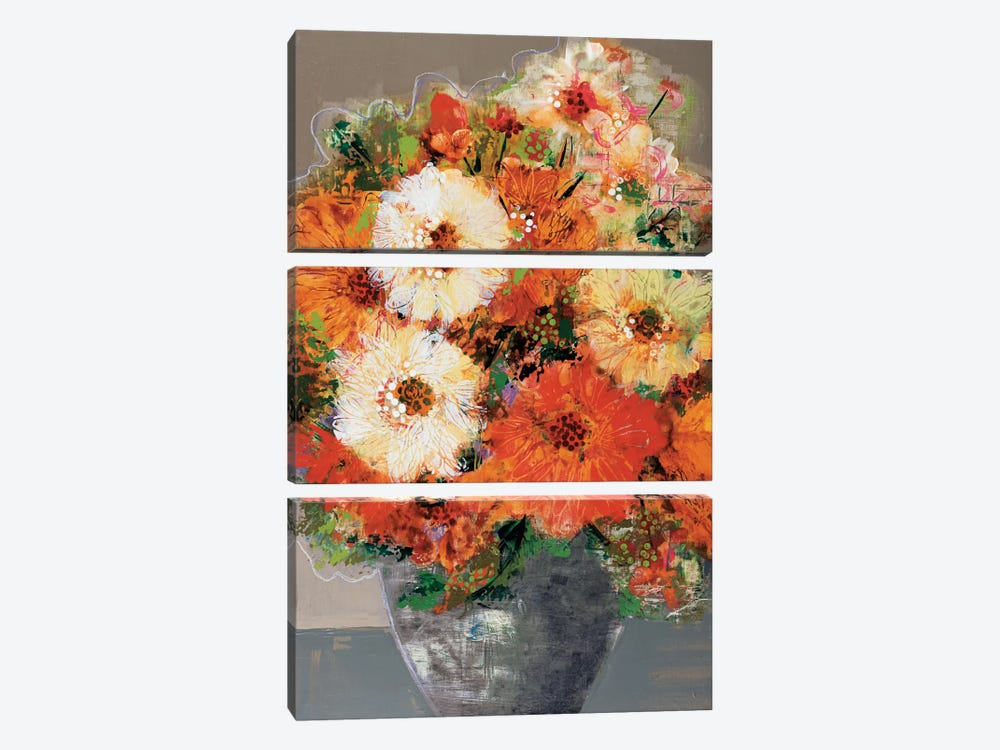 In Full Bloom by Leslie Bernsen 3-piece Art Print