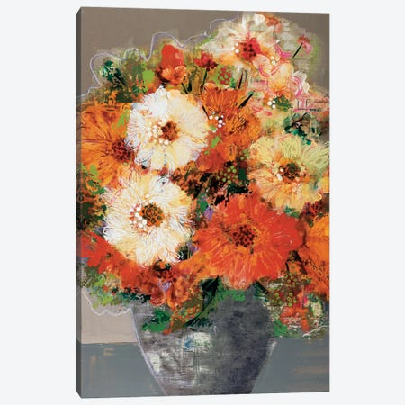 In Full Bloom Canvas Print #BER32} by Leslie Bernsen Canvas Artwork