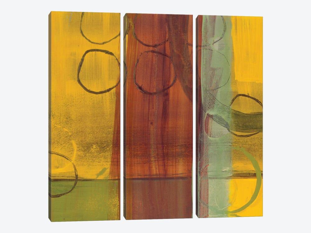 Kaleidoscope Rotations II by Leslie Bernsen 3-piece Canvas Art Print