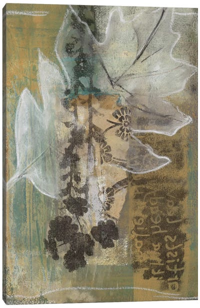 Leaf Luminescence I Canvas Art Print