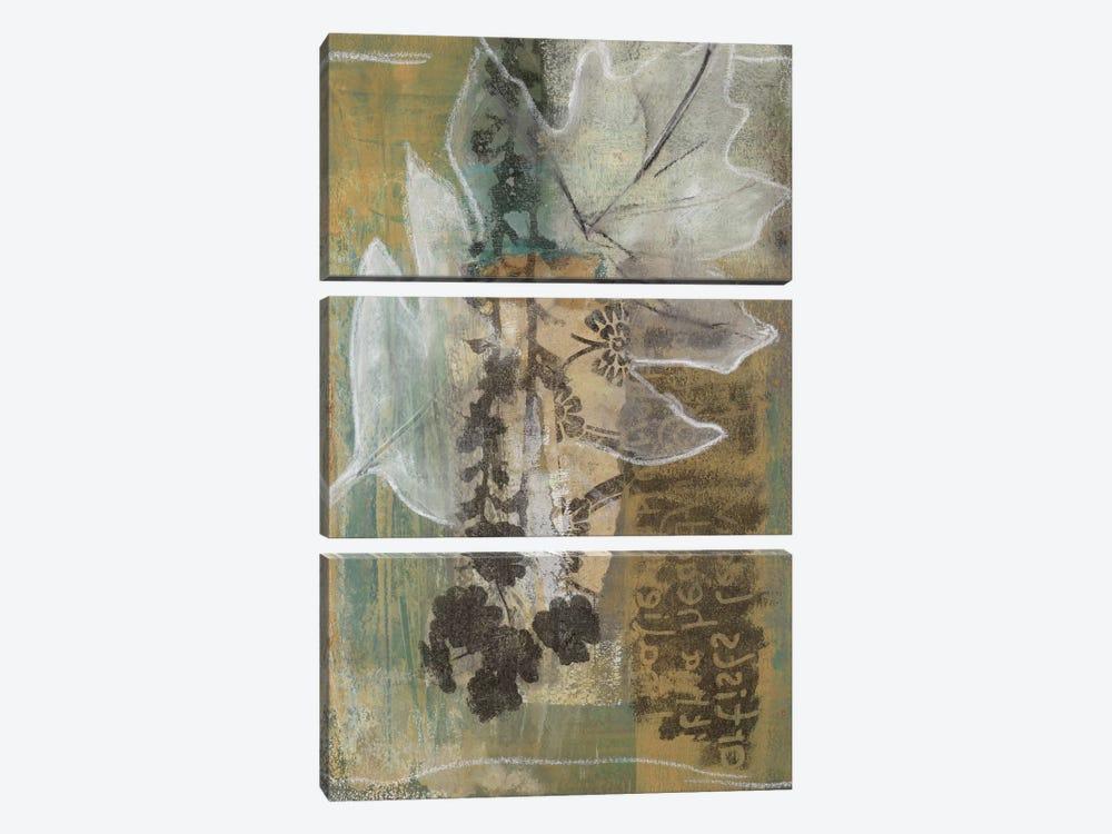 Leaf Luminescence I by Leslie Bernsen 3-piece Canvas Wall Art