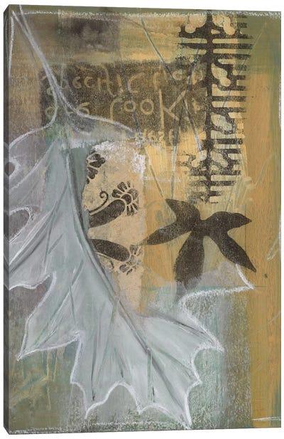Leaf Luminescence II Canvas Art Print