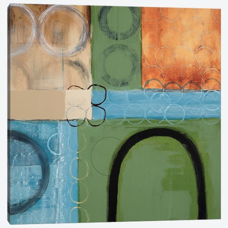 Make A U-Turn Canvas Print #BER39} by Leslie Bernsen Canvas Art