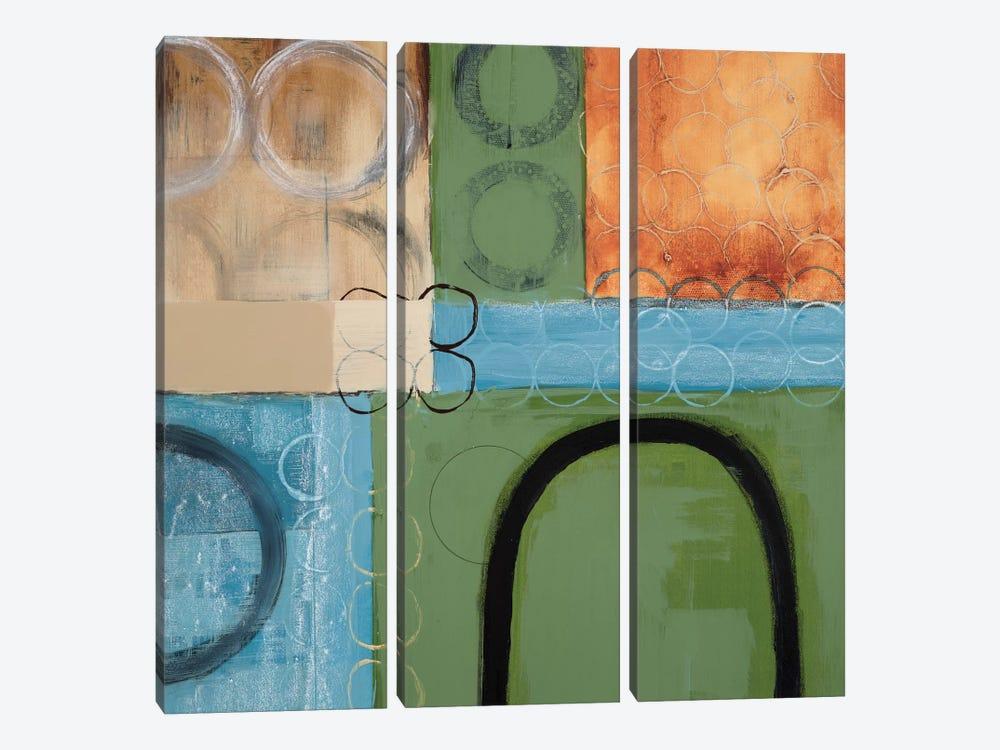 Make A U-Turn by Leslie Bernsen 3-piece Canvas Artwork
