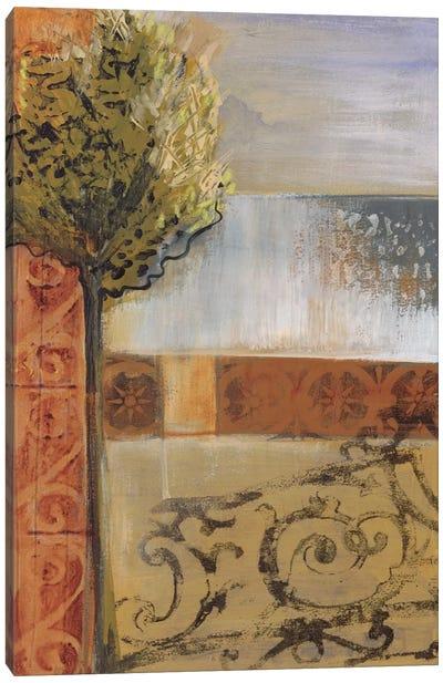 Beyond The Gate Canvas Art Print