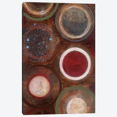 Nature's Spheres II Canvas Print #BER45} by Leslie Bernsen Canvas Artwork