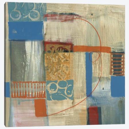 Blue Radiance I Canvas Print #BER4} by Leslie Bernsen Art Print