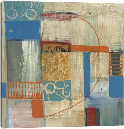Blue Radiance I Canvas Art Print