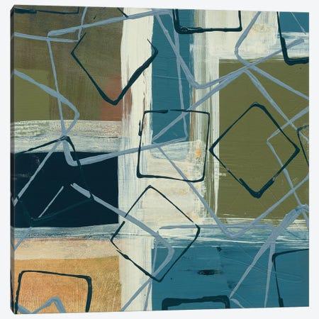 Retro Flux I Canvas Print #BER50} by Leslie Bernsen Canvas Art