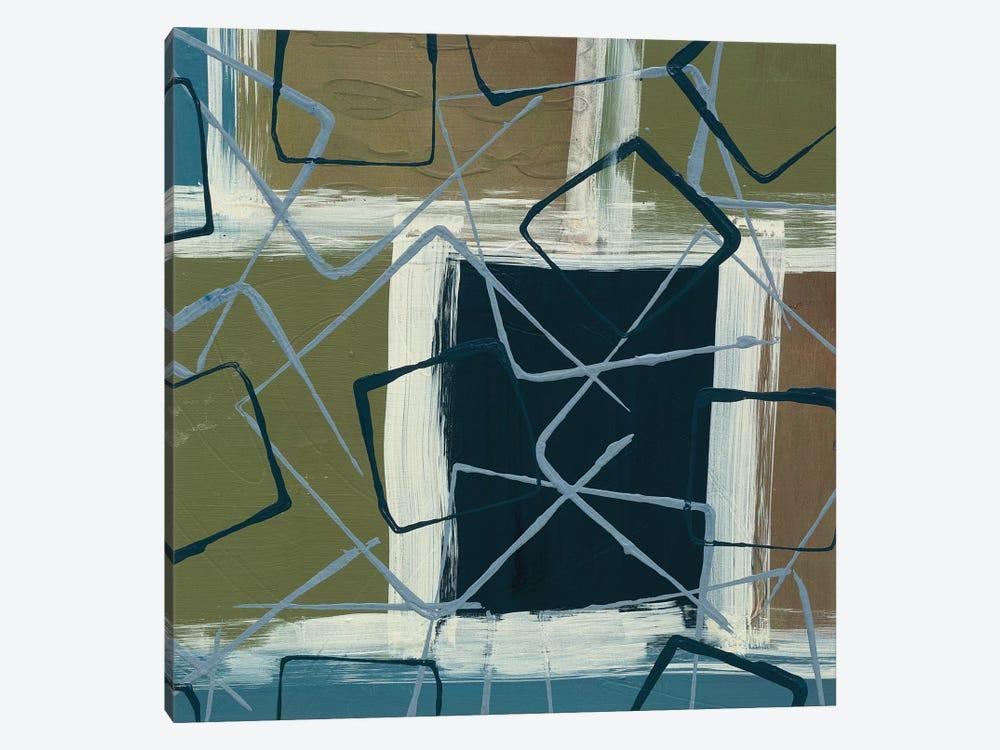 Retro Flux II by Leslie Bernsen 1-piece Canvas Artwork