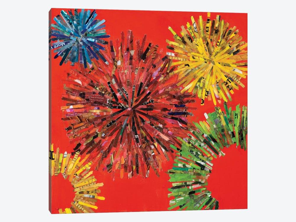 Spin I by Leslie Bernsen 1-piece Canvas Artwork