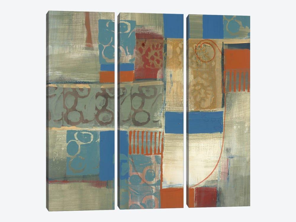 Blue Radiance II by Leslie Bernsen 3-piece Canvas Artwork