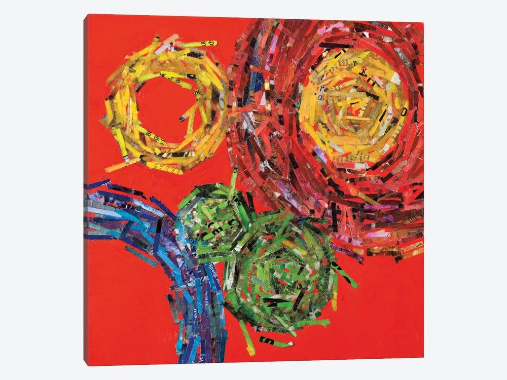 Spin II by Leslie Bernsen 1-piece Canvas Artwork