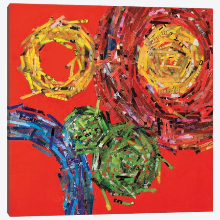 Spin II Canvas Print #BER60} by Leslie Bernsen Canvas Print