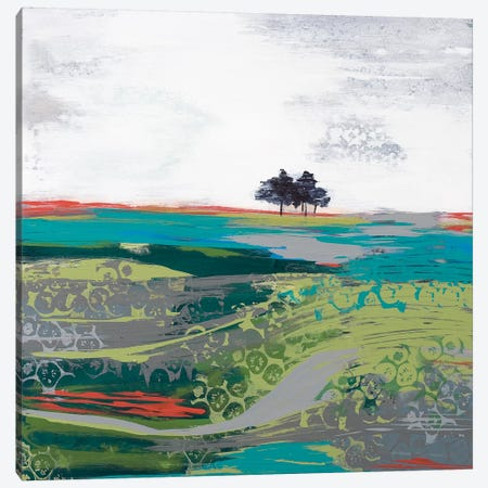 Summer Breeze Canvas Print #BER63} by Leslie Bernsen Art Print