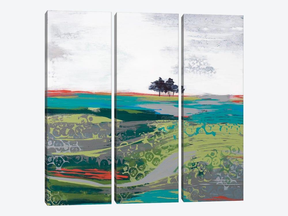 Summer Breeze by Leslie Bernsen 3-piece Art Print