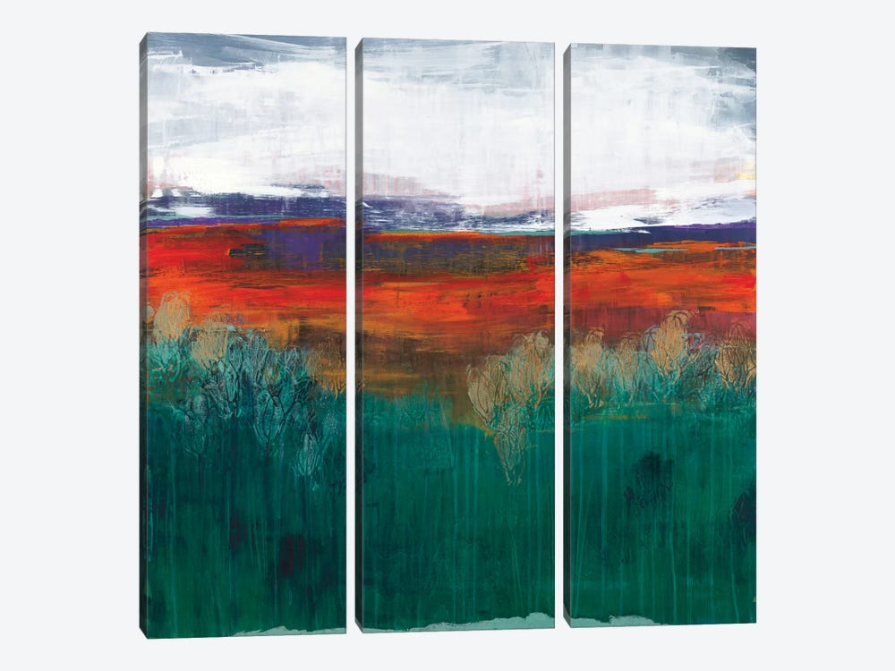Sundown by Leslie Bernsen 3-piece Canvas Art