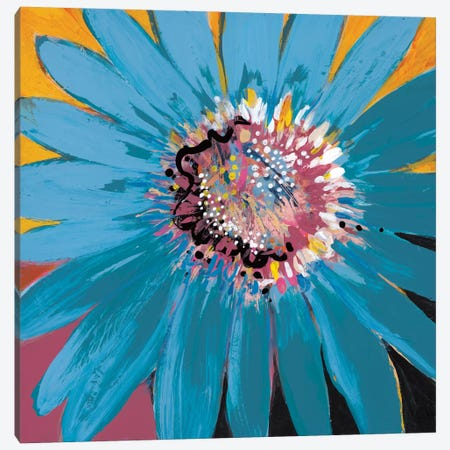 Sunshine Flower II Canvas Print #BER66} by Leslie Bernsen Canvas Wall Art