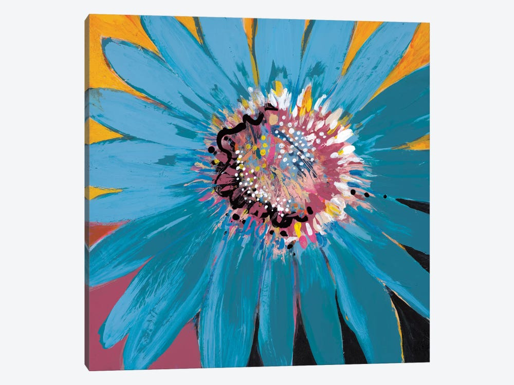 Sunshine Flower II by Leslie Bernsen 1-piece Canvas Artwork