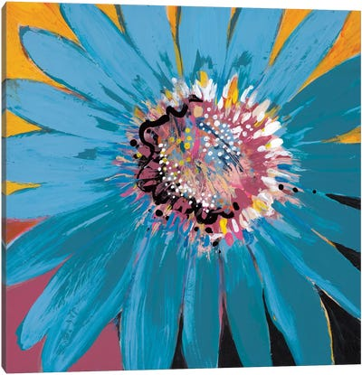 Sunshine Flower II Canvas Art Print