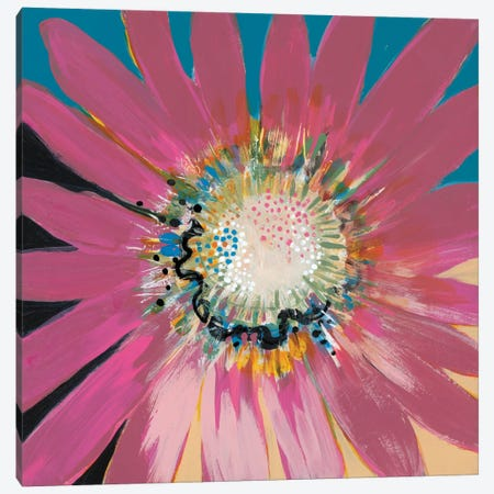 Sunshine Flower III Canvas Print #BER67} by Leslie Bernsen Canvas Art